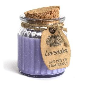 Bougie parfumée à la lavande Cire de soja